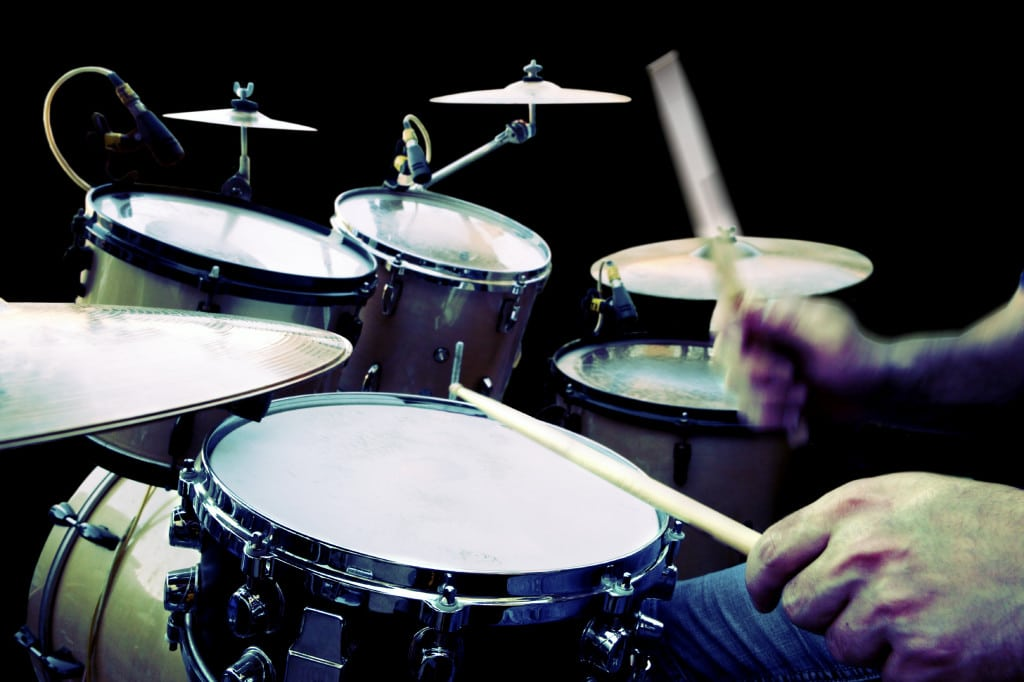 drummer playing