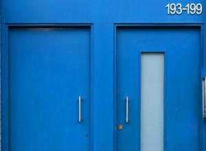 Camden Studio front door