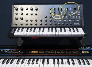 Juno 6 & Korg MS20 Synthersizers