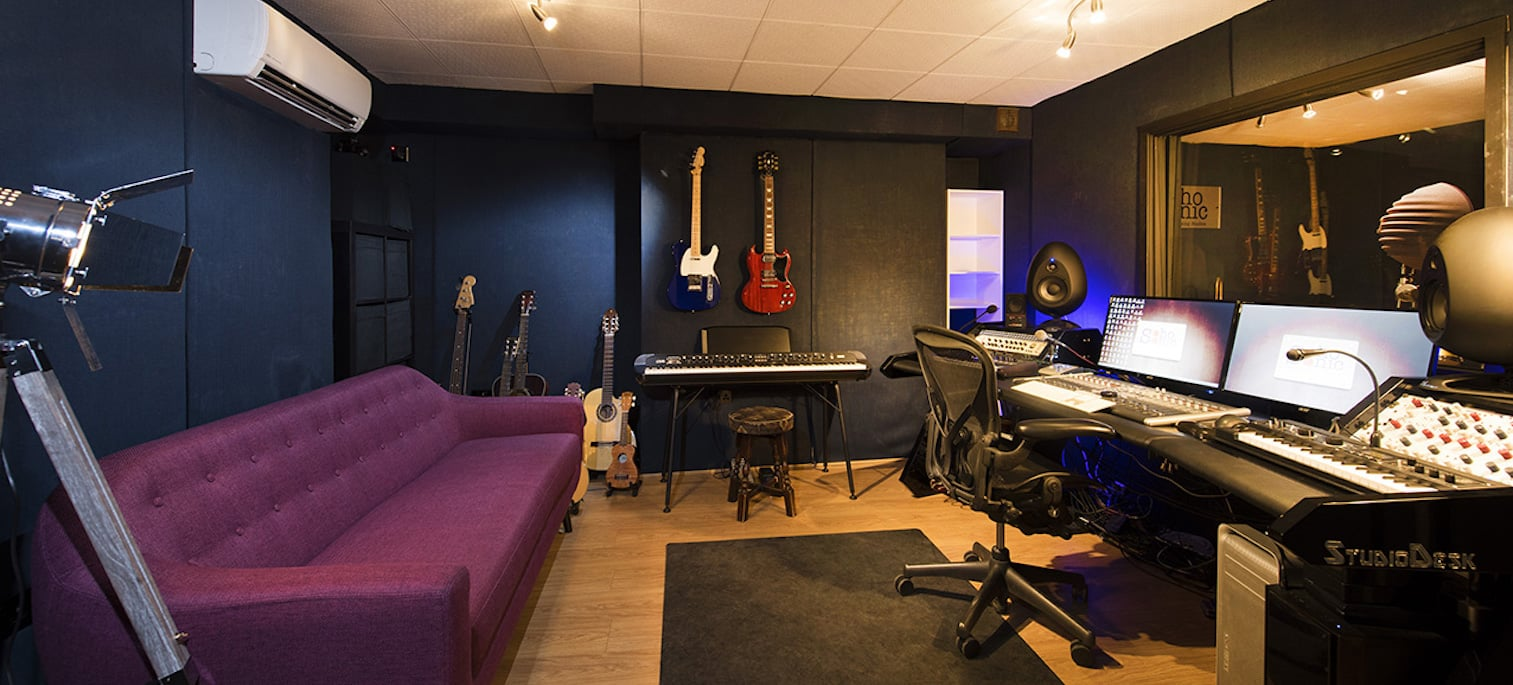 LOCATED IN CENTRAL LONDON, WE CAN ACCOMMODATE ALL YOUR AUDIO REQUIREMENTS
