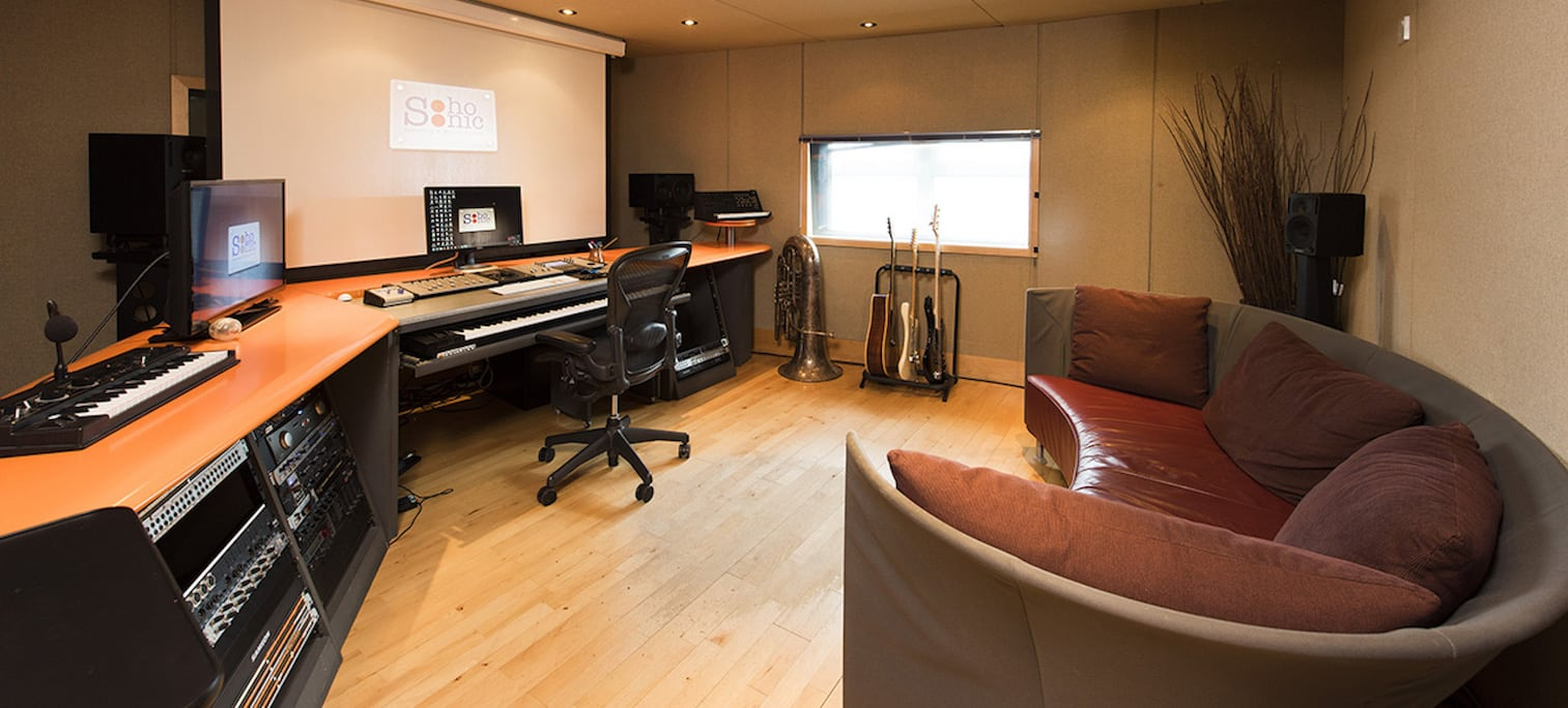 Welcome to Soho Sonic Award winning Recording & Mixing Studios